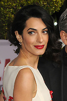 "1 February 2016 - Westwood, California - Amal Clooney. ""Hail, Caesar!"" Los Angeles Premiere held at the Regency Village Theatre. Photo Credit: Byron Purvis/AdMedia"