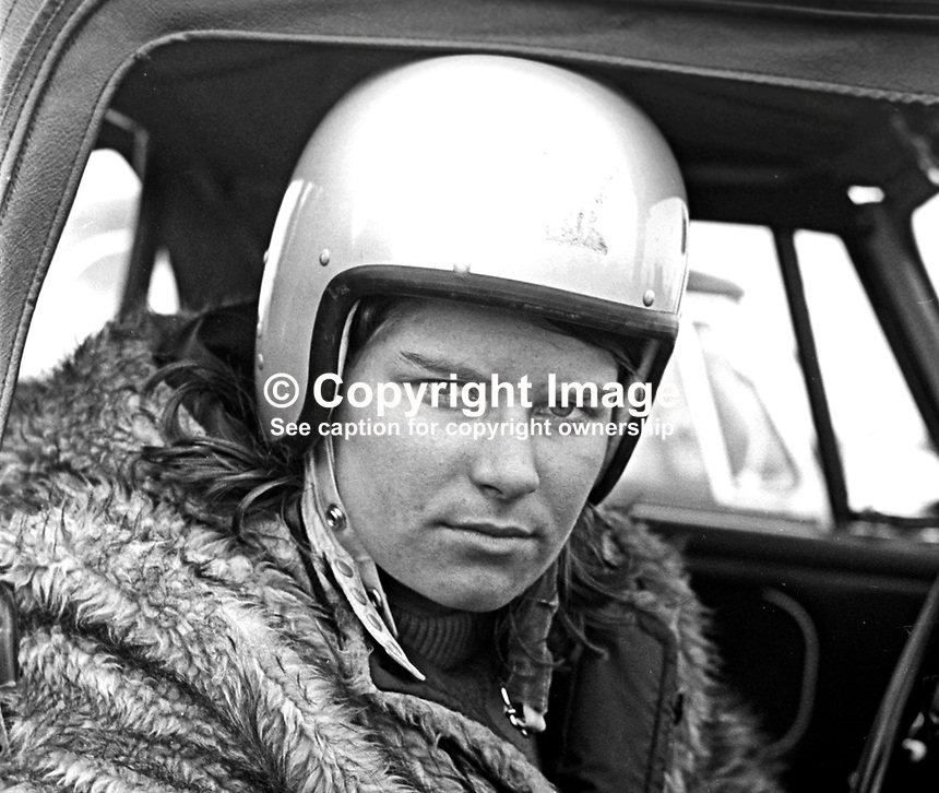 Teri Waithing, racing driver, N Ireland, September, 1967, 196709000143<br />