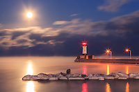 &quot;Full Moon and Sea Smoke&quot;<br />