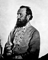 "Gen. ""Stonewall"" Jackson, C.S.A., 1863.  George W. Minnes.  Mathew Brady Collection. (Army)<br /> Exact Date Shot Unknown<br /> NARA FILE #:  111-B-1867<br /> WAR & CONFLICT BOOK #:  133"