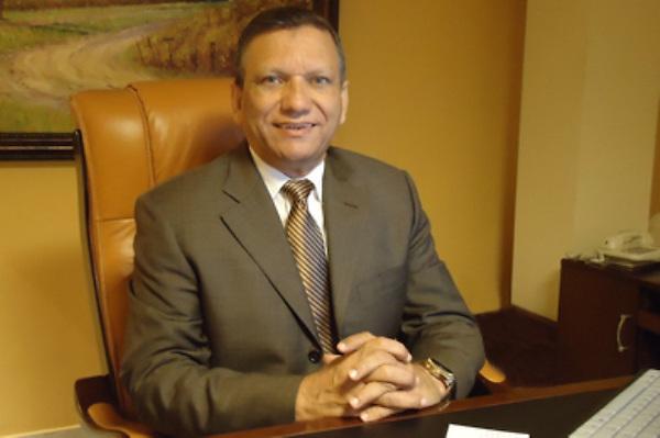 El director del Centro Económico del Cibao, Leonardo Aguilera. Fuente externa.