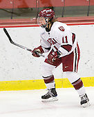 Deborah Conway (Harvard - 11) - The Harvard University Crimson defeated the Boston College Eagles 5-0 in their Beanpot semi-final game on Tuesday, February 2, 2010 at the Bright Hockey Center in Cambridge, Massachusetts.