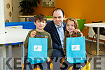 At the IT Tralee Kerry Science Festival on Saturday were Edmond Harty Snr. Edmond Harty, Jr. and Niamh Harty