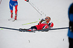 HOLMENKOLLEN, OSLO, NORWAY - March 16: Tord Asle Gjerdalen of Norway (NOR) after the Men 50 km mass start, free technique, at the FIS Cross Country World Cup on March 16, 2013 in Oslo, Norway. (Photo by Dirk Markgraf)