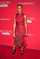 NEW YORK, NY - JANUARY 24: Adwoa Aboah at the Revlon Live Boldly launch at Skylight Modern on January 24, 2018 in New York City.  Credit: John PalmerMediaPunch