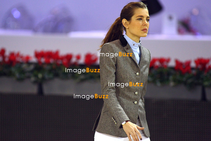 Charlotte Casiraghi attends to the Gucci Masters show, in Paris, Friday, November 30, 2012.