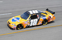 May 2, 2008; Richmond, VA, USA; NASCAR Sprint Cup Series driver Kyle Busch during practice for the Dan Lowry 400 at the Richmond International Raceway. Mandatory Credit: Mark J. Rebilas-US PRESSWIRE