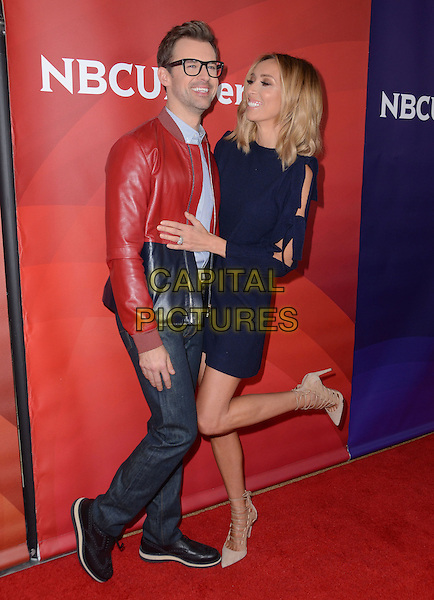 14 January  - Pasadena, Ca - Brad Goreski, Guliana Rancic. NBC Universal Press Tour Day 2 held at The Langham Huntington Hotel.  <br /> CAP/ADM/BT<br /> &copy;BT/ADM/Capital Pictures