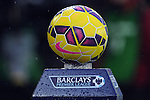Nike Ordem Barclays Premier League match ball 2014-15 Season at a very wet St Mary's stadium - Barclays Premier League - Southampton vs Liverpool - St Mary's Stadium - Southampton - England - 22nd February 2015 - Pic Robin Parker/Sportimage