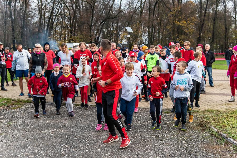 Bieg Niepodległości, Szczekociny 11.11.2019