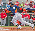 20 March 2015: Houston Astros infielder Jonathan Villar in Spring Training action against the Washington Nationals at Osceola County Stadium in Kissimmee, Florida. The Astros fell to the Nationals 7-5 in Grapefruit League play. Mandatory Credit: Ed Wolfstein Photo *** RAW (NEF) Image File Available ***
