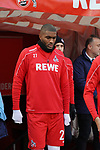 30.11.2019, RheinEnergieStadion, Koeln, GER, 1. FBL, 1.FC Koeln vs. FC Augsburg,<br />  <br /> DFL regulations prohibit any use of photographs as image sequences and/or quasi-video<br /> <br /> im Bild / picture shows: <br /> einlauf Anthony (Toni) Modeste (FC Koeln #27), <br /> <br /> Foto © nordphoto / Meuter