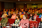 The large crowd who attended the Arthritis talk in the Manor West hotel, Tralee last Monday evening.