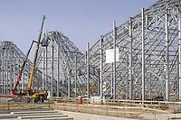 - Milano, cantiere per  l'Esposizione Mondiale Expo 2015, costruzione del &quot;Padiglione Zero&quot;<br /> <br /> - Milan,  construction site for the World Exhibition Expo 2015,  building of the &quot;Pavilion Zero&quot;