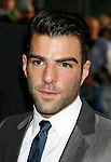 """HOLLYWOOD, CA. - April 30: Zachary Quinto arrives at the Los Angeles premiere of """"Star Trek"""" at the Grauman's Chinese Theater on April 30, 2009 in Hollywood, California.a"""