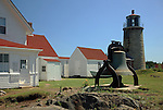 The Monhegan Museum,  Monhegan Island, Monhegan Plantation, Lincoln County, Maine, USA