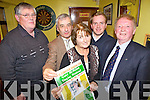 Launching the annual Gary McMahon Singing Weekend which will take place in November were family members and friends of the late song writer, pictured here last Thursday night in The Ramble Inn, Abbeyfeale was Joe O'Connor (Comhaltas Ceoltori? Eireann), Eoin, Joan and Rossa McMahon with Thomas McKenna (Chair of W Limerick Singing Club).