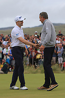 Russell Knox (SCO) winner of the Dubai Duty Free Irish Open at Ballyliffin Golf Club, Donegal on Sunday 8th July 2018.<br /> Picture:  Thos Caffrey / Golffile