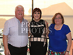 Sabrina Burke celebrating her 40th birthday in Brú with her parents Seanie and Catherine Neilon. Photo:Colin Bell/pressphotos.ie