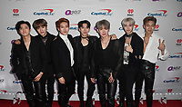 PHILADELPHIA, PA - DECEMBER 05:  I.M, Minhyuk, Jooheon, Kihyun, Wonho, Hyungwon, and Shownu of Monsta X attend Q102's Jingle Ball 2018 at Wells Fargo Center on December 5, 2018 in Philadelphia, Pennsylvania. Photo: imageSPACE/MediaPunch