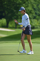 Michelle Wie (USA) after sinking her putt on 11 during the round 1 of the KPMG Women's PGA Championship, Hazeltine National, Chaska, Minnesota, USA. 6/20/2019.<br /> Picture: Golffile | Ken Murray<br /> <br /> <br /> All photo usage must carry mandatory copyright credit (© Golffile | Ken Murray)
