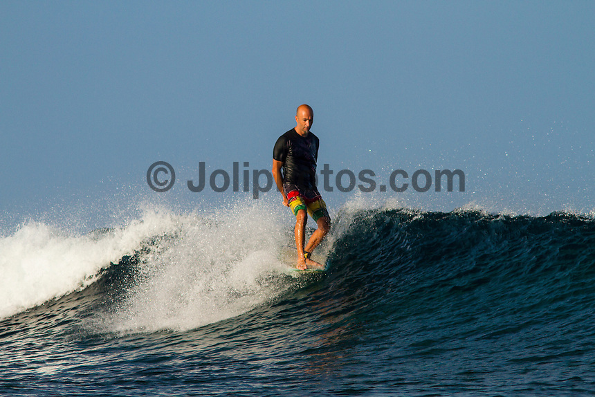 Namotu Island Resort, Fiji. (Tuesday, May 15, 2012) -  Light winds and clear blue skies.There were small waves at Desperations, Namotu Lefts and Wilkes today..Photo: joliphotos.com