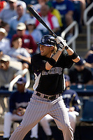 March 13, 2010 - Colorado Rockies' Chris Frey #75 during a spring training game against the Milwaukee Brewers at Maryvale Baseball Park in Phoenix, Arizona.