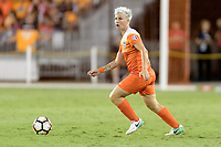 Houston, TX - Wednesday June 28, 2017: Janine van Wyk looks to pass the ball during a regular season National Women's Soccer League (NWSL) match between the Houston Dash and the Boston Breakers at BBVA Compass Stadium.