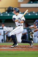 GCL Tigers D.J. Driggers #26 during a Gulf Coast League game against the GCL Blue Jays at Joker Marchant Stadium on July 16, 2012 in Lakeland, Florida.  GCL Blue Jays defeated the GCL Tigers 4-3.  (Mike Janes/Four Seam Images)