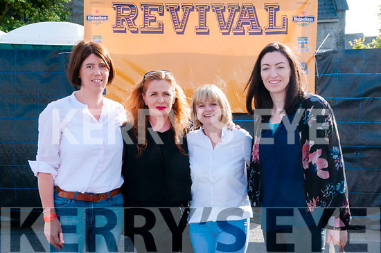 Revival Concert : Attending the Revival Concert in  the Square, Listowel on SAturday night last were Margaret Boyle, Suzanne Scanlon, Niamh Walsh & Caroline Boyle.