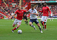 Seán Maguire of Preston North End on the ball during Charlton Athletic vs Preston North End, Sky Bet EFL Championship Football at The Valley on 3rd November 2019