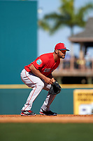 Boston Red Sox third baseman Chris Dominguez (70) during a Spring Training game against the Pittsburgh Pirates on March 9, 2016 at McKechnie Field in Bradenton, Florida.  Boston defeated Pittsburgh 6-2.  (Mike Janes/Four Seam Images)