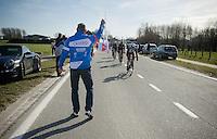 feedzone handout<br /> <br /> Omloop Het Nieuwsblad 2015