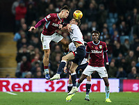 Bolton Wanderers' Joe Williams competing with Aston Villa's Jack Grealish<br /> <br /> Photographer Andrew Kearns/CameraSport<br /> <br /> The EFL Sky Bet Championship - Aston Villa v Bolton Wanderers - Friday 2nd November 2018 - Villa Park - Birmingham<br /> <br /> World Copyright &copy; 2018 CameraSport. All rights reserved. 43 Linden Ave. Countesthorpe. Leicester. England. LE8 5PG - Tel: +44 (0) 116 277 4147 - admin@camerasport.com - www.camerasport.com