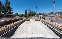 New pool aquatic center, Athletics, Occidental College, Aug. 29, 2019.<br /> (Photo by Marc Campos, Occidental College Photographer)