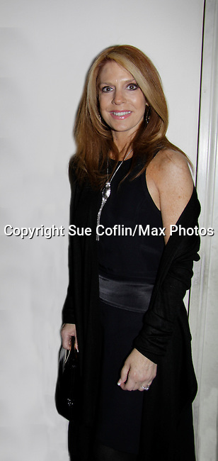 Kelly Clinton attends a night of entertainment at the Cafe Carlyle, New York City. (Photo by Sue Coflin/Max Photos)