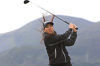Zhen Bontan (NED) on the 2nd tee during Round 2 of the Women's Amateur Championship at Royal County Down Golf Club in Newcastle Co. Down on Wednesday 12th June 2019.<br /> Picture:  Thos Caffrey / www.golffile.ie