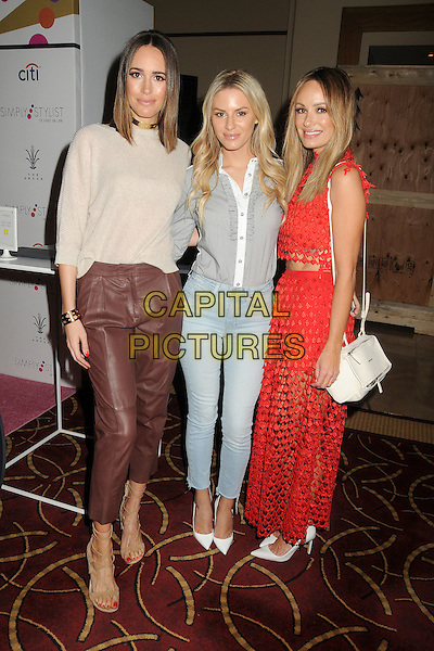 19 March 2016 - Los Angeles, California - Louise Roe, Morgan Stewart, Catt Sadler. Simply Stylist LA Conference held at The Grove.  <br /> CAP/ADM/BT<br /> &copy;BT/ADM/Capital Pictures