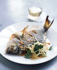 Roast Bream with Salad