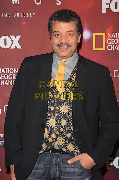 04 March 2014 - Los Angeles, California - Neil deGrasse Tyson (Host).  &quot;Cosmos: A Spacetime Odyssey&quot; Premiere Screening at The Greek Theater in Los Angeles. <br /> CAP/ADM/BT<br /> &copy;Birdie Thompson/AdMedia/Capital Pictures