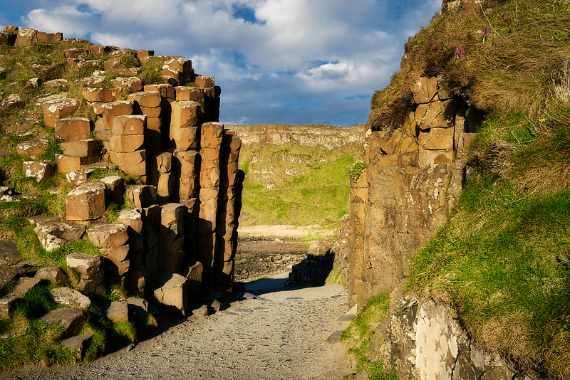 Giants Gate. Giants Causway. Northern ireland