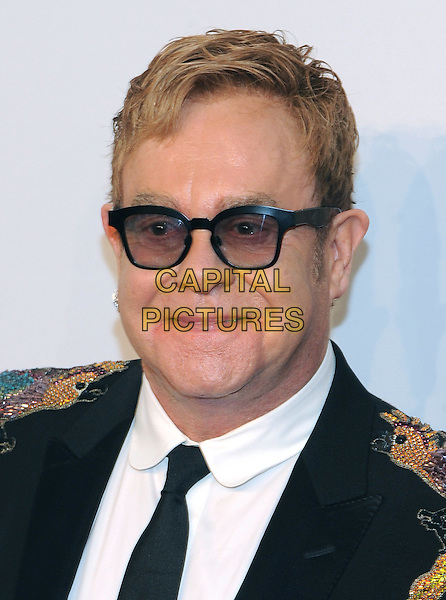 NEW YORK, NY - NOVEMBER 02: Sir Elton John  attends 15th Annual Elton John AIDS Foundation An Enduring Vision Benefit at Cipriani Wall Street on November 2, 2016 in New York City.<br /> CAP/MPI/JP<br /> &copy;JP/MPI/Capital Pictures