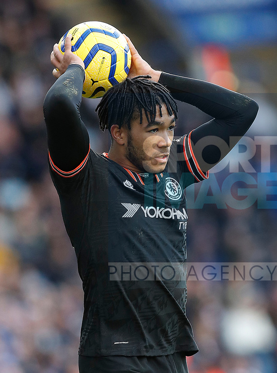 Reece James of Chelsea during the Premier League match against Leicester City at the King Power Stadium, Leicester. Picture date: 1st February 2020. Picture credit should read: Darren Staples/Sportimage