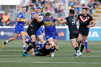 Trent Merrin surges forward for Leeds during London Broncos vs Leeds Rhinos, Betfred Super League Rugby League at Trailfinders Sports Club on 1st September 2019