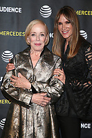 LOS ANGELES, CA - APRIL 15: Holland Taylor and Kelly Lynch at the AT&amp;T Audience Network Mr. Mercedes FYC Event at Hollywood Forever Cemetery in Los Angeles, California on April 15, 2018. <br /> CAP/MPI/FS<br /> &copy;FS/MPI/Capital Pictures