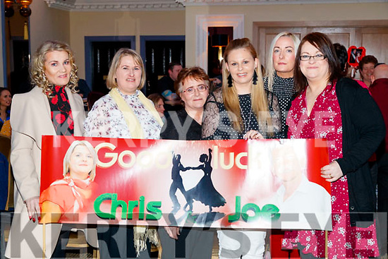 Aileen Mahony, Deirdre Lyons Margaret Falvey, Triona McCarthy, Caitriona O'Donnell and Caitriona Lenihan, Pictured at Sickly Come Dancing, UHK, at Ballygarry House Hotel & Spa, Tralee on Friday night last.