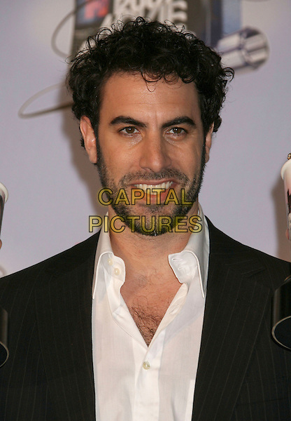 SASHA BARON COHEN.Press Room - 2007 MTV Movie Awards,  Gibson Amphitheater, Universal City, California, USA,.03 June 2007..portrait headshot.CAP/ADM/RE.©Russ Elliot/AdMedia/Capital Pictures. *** Local Caption *** ...