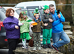 Looking on at the St Patrick's Day parade in Sixmilebridge. Photograph by John Kelly.
