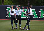 DENTON, TX - APRIL 21: University of North Texas Mean Green Softball vs. Florida International University Game 1, at Lovelace Field in Denton on April 22, 2018 in Denton, Texas. Photo by Rick Yeatts