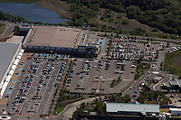 Aerial view of Morrisons super market in Morfa Swansea